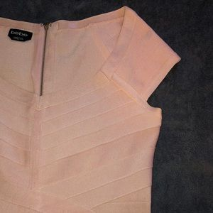 BEBE Pink Bodycon Dress